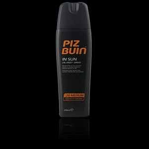 PIZ BUIN IN SUN oil-free spray SFP20 200 ml